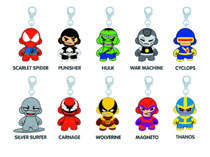 Image: Marvel Munny Zipper Pull 20-Piece Blind Mystery Box Display Series 02  -
