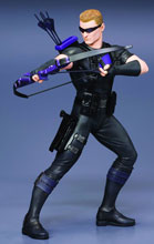 Image: Marvel Now! Avengers Artfx+ Statue 1/10 Scale Pre-Painted Model Kit: Hawkeye  -