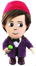 Image: Doctor Who: The Eleventh Doctor with Fez Medium Talking Plush  -