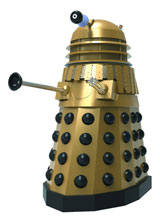 Image: Doctor Who Maxi-Bust: Gold Dalek Day of the Daleks  -