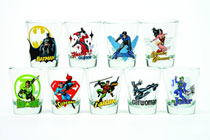 Image: Toon Tumblers Mini-Glass: Wonder Woman  -