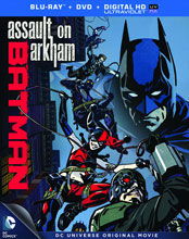 Image: DCU Batman: Assault on Arkham BluRay+DVD  - Warner Home Video Inc