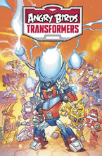 Image: Angry Birds Transformers: Age of Eggstinction HC  - IDW Publishing