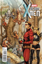 Image: Uncanny X-Men #35 (Oum NYC variant cover) - Marvel Comics