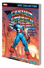 Image: Captain America Epic Collection: Streets of Poison SC  - Marvel Comics