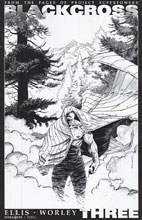 Image: Project Superpowers: Blackcross #3 (Shalvey b&w variant incentive cover - 03061) (25-copy) - Dynamite