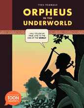 Image: Orpheus in the Underworld Toon Graphic HC  - Toon Books