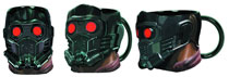 Image: Guardians of the Galaxy Molded Mug: Star Lord Head  -