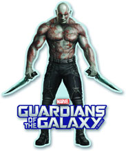Image: Guardians of the Galaxy Magnet: Drax  -