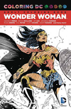 Image: Coloring DC: Wonder Woman SC  - DC Comics