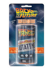 Image: Back to the Future Outatime Dice Game  - IDW Publishing