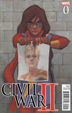 Image: Civil War II #0 (variant cover - Noto Kamala)  [2016] - Marvel Comics