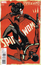 Image: Spider-Woman #7 (variant cover - Rodriguez)  [2016] - Marvel Comics