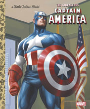 Image: Marvel Comics Little Golden Book: The Courageous Captain America  - Random House Books For Young R