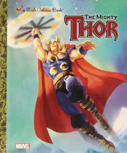 Image: Marvel Comics Little Golden Book: Mighty Thor HC  - Random House Books For Young R
