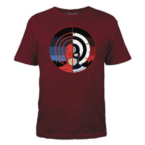 Image: Daredevil T-Shirt: Order & Chaos [Red]  (S) - Mighty Fine