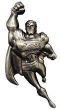 Image: Superman: The Animated Series Figural Metal Bottle Opener  - Diamond Select Toys LLC