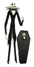 Image: Nightmare Before Christmas Doll: Jack Unlimited Coffin  - Diamond Select Toys LLC