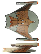 Image: Star Trek Starship Legends Electronic Starship: Romulan Bird-of-Prey  - Diamond Select Toys LLC