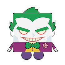 Image: Kawaii Cube DC Plush: Joker  (Large) - Wish Factory Trading Limited