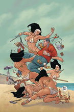 Image: Shaolin Cowboy: Who'll Stop the Reign? #2 (variant cover - Cho) - Dark Horse Comics
