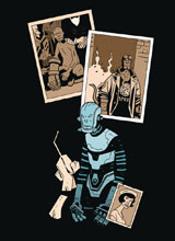 Image: Visitor: How and Why He Stayed #4 - Dark Horse Comics