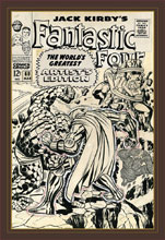 Image: Jack Kirby's Fantastic Four: The World's Greatest Artist's Edition HC  - IDW Publishing