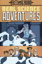 Image: Atomic Robo Presents Real Science Adventures, Vol. 1: The Billion Dollar Plot SC  - IDW Publishing