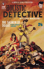 Image: Dirk Gently's Holistic Detective Agency: The Salmon of Doubt #8 (incentive cover - Robert Hack) (10-co - IDW Publishing