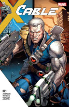Image: Cable #1  [2017] - Marvel Comics