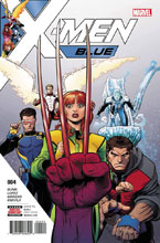 Image: X-Men Blue #4 - Marvel Comics
