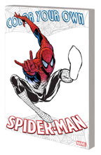Image: Color Your Own Spider-Man SC  - Marvel Comics