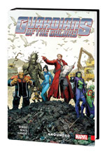 Image: Guardians of the Galaxy: New Guard Vol. 04 - Grounded HC  - Marvel Comics