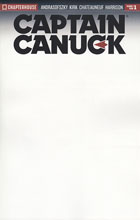 Image: Captain Canuck: Season 03 #1 (blank incentive cover) (5-copy)  [2017] - Chapterhouse Comics