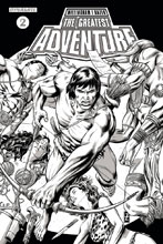 Image: Greatest Adventure #2 (Zircher b&w incentive cover - 02051) (20-copy)  [2017] - Dynamite