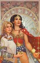Image: Wonder Woman '77 Meets the Bionic Woman #6 (Nicola Scott virgin incentive cover - 06041) (25-copy) - Dynamite
