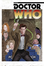 Image: Doctor Who: The 11th Doctor Year Three #8 (cover C - Myers) - Titan Comics