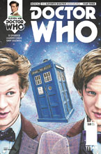 Image: Doctor Who: The 11th Doctor Year Three #8 (cover D - Walker) - Titan Comics