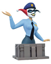 Image: Batmant the Animated Series Resin Bust: Harley Quinn 25th Anniversary Edition  - Diamond Select Toys LLC