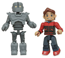 Image: Iron Giant & Hogarth Hughes Minimates 2-Pack  - Diamond Select Toys LLC