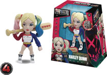 Image: Metals Suicide Squad Die-Cast Figure: Harley Quinn  (4-inch) - Jada Toys, Inc