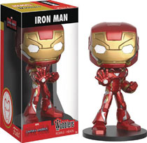 Image: Marvel Wobblers Bobble-Head: Captain America: Civil War - Iron Man  - Funko