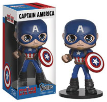 Image: Marvel Wobblers Bobble-Head: Captain America: Civil War - Captain America  - Funko