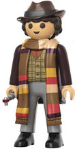 Image: Funko Playmobil Doctor Who Figure Collectible: Fourth Doctor  - Funko