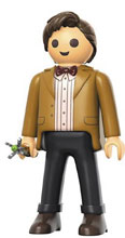 Image: Funko Playmobil Collectible Figure: Doctor Who - Eleventh Doctor  - Funko
