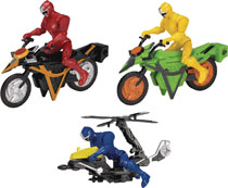 Image: Power Rangers Ninja Steel Mega Morph Vehicle Assortment  - Bandai America