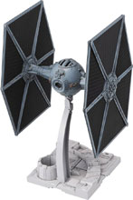Image: Star Wars Model Kit: Tie Fighter  (1/72 scale) - Bandai Hobby
