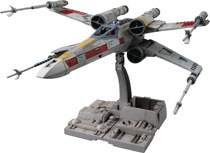Image: Star Wars Model Kit: X-Wing Star Fighter  (1/72 scale) - Bandai Hobby