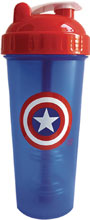 Image: Perfect-Shaker Marvel 28-ounce Bottle: Captain America  - Perfect Shaker