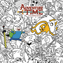 Image: Adventure Time Adult Coloring Book SC  - Dark Horse Comics